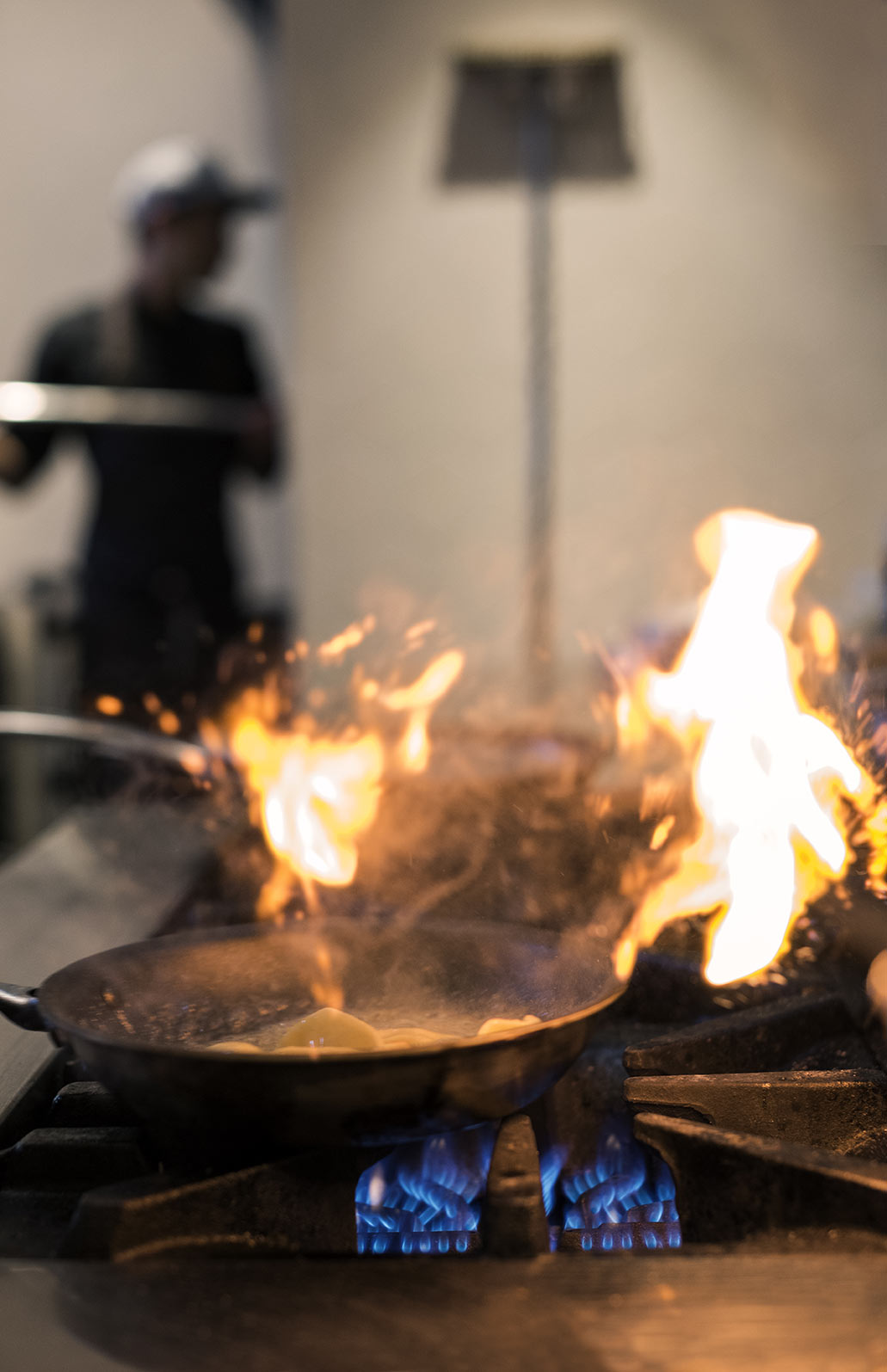 L'îlot restaurant - Repère gourmand - Ambiance chaleureuse